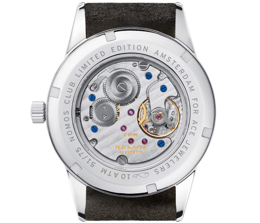 Nomos Club Campus Amsterdam Limited Edition Watch By Ace Jewelers Watch Releases