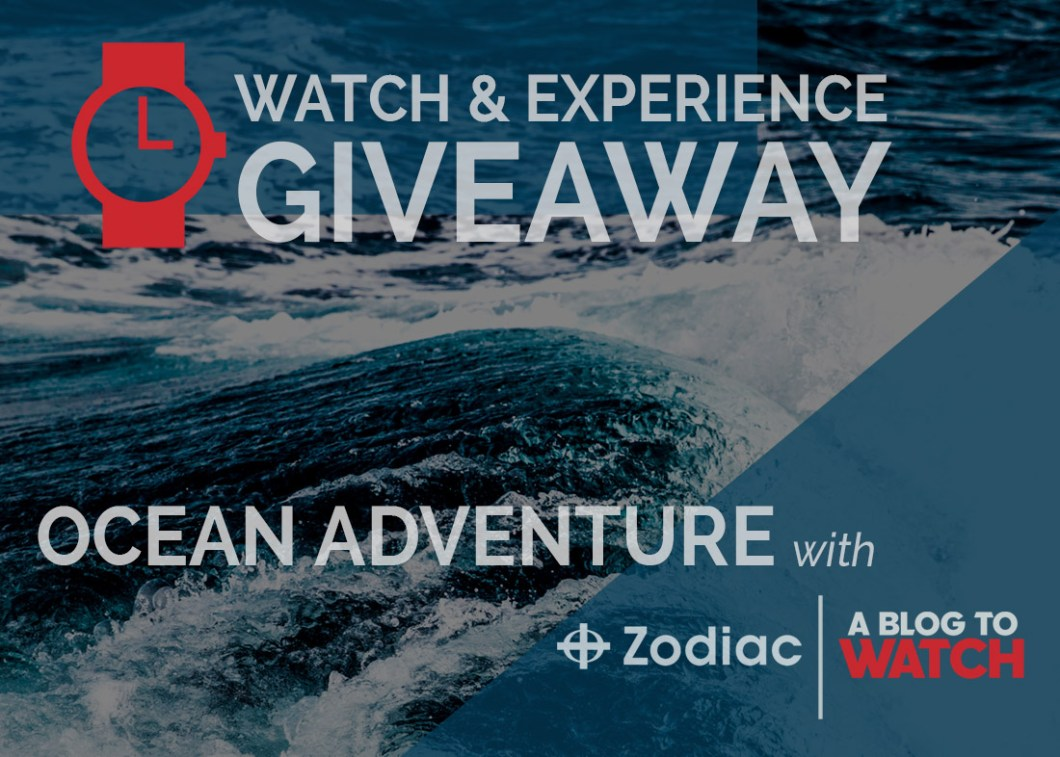 WATCH & EXPERIENCE GIVEAWAY: Ocean Adventure With Zodiac Watches & aBlogtoWatch In The Bahamas Giveaways