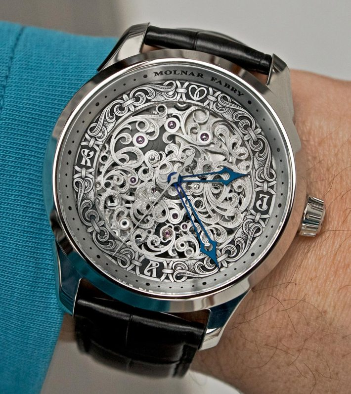 Molnar Fabry Corculum Watch With Customized Omega Co-Axial 8500 Movement Watch Releases