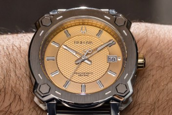 Bulova Precisionist Special Grammy Edition Watch Hands-On At The Grammy Awards Hands-On