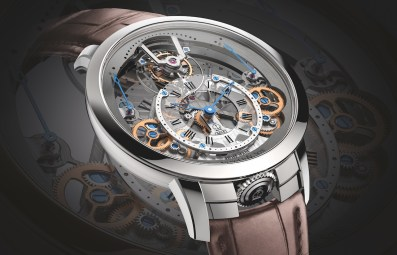 Arnold & Son Time Pyramid Tourbillon Watch First Look