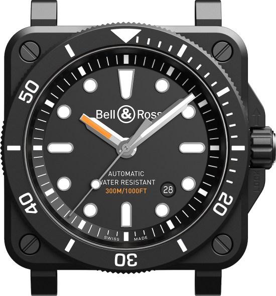 Bell & Ross BR 03-92 Diver Black Matte Watch First Look