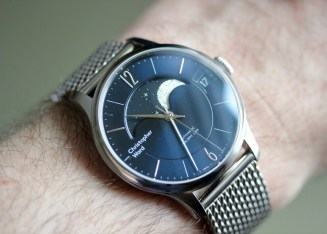 Christopher Ward C1 Grand Malvern Moon Phase Watch Review Wrist Time Reviews