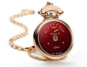 New Red Dial For The Bovet Virtuoso V Watch First Look
