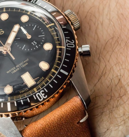 Oris Divers Sixty-Five Chronograph Watch Hands-On Hands-On