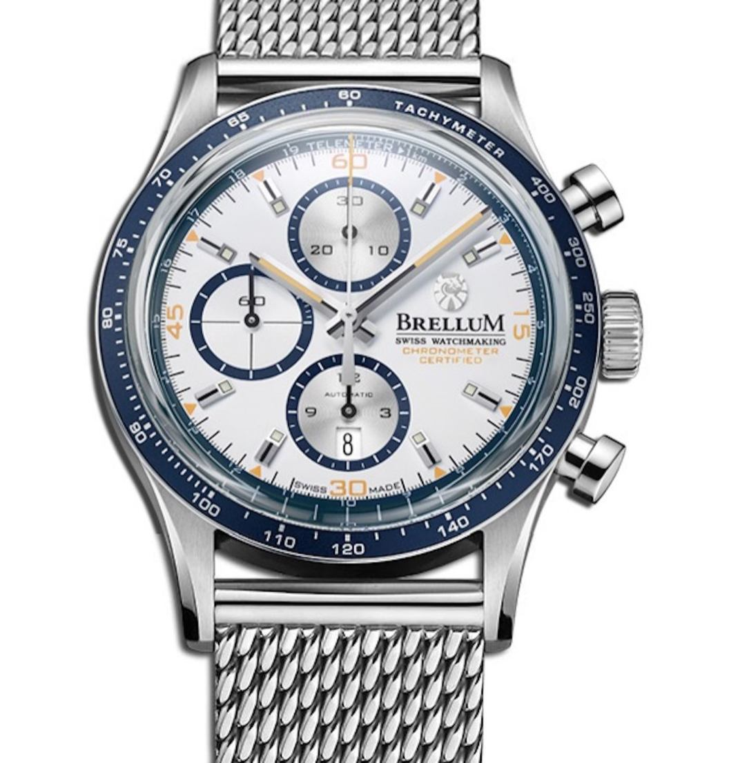 Brellum Pandial Marina 2 Chronometer Watch Brings Summery Vibe To Existing Range Watch Releases