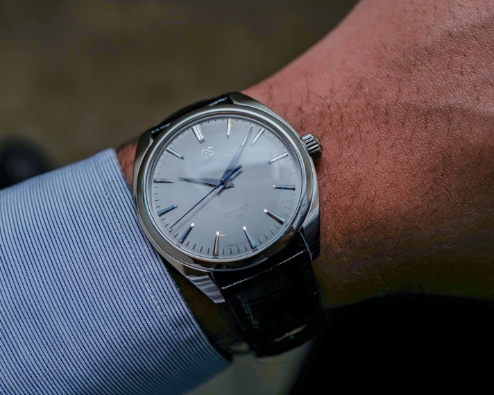 Grand Seiko Elegance Spring Drive 20th Anniversary Watches Hands-On Hands-On