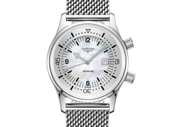 Longines Legend Diver Watch Now Available In 36mm Watch Releases