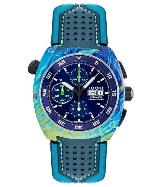 Tockr Air Defender Series Enlivened By Colorful Hydro-Dipped Watches Watch Releases