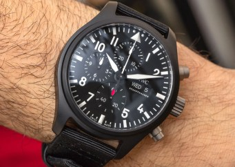 IWC Pilot's Watch Chronograph TOP GUN Review (New For 2019 Model) Wrist Time Reviews