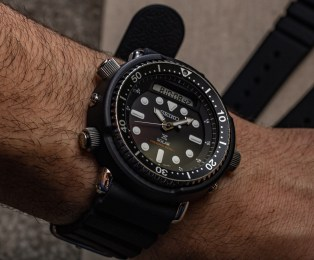 Hands-On With The Reissued Seiko Solar 'Arnie' Prospex SNJ025 & SNJ027 Watches Hands-On