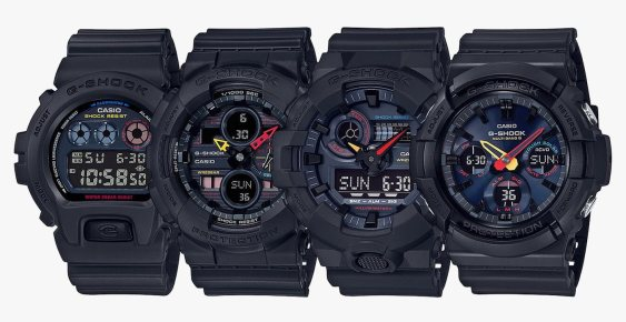 Casio G-Shock NeoTokyo Watches Channel 1980s Anime Watch Releases