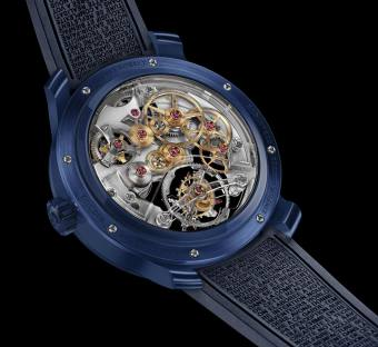 Greubel Forsey Double Tourbillon 30° Technique Watch In Ceramic Watch Releases