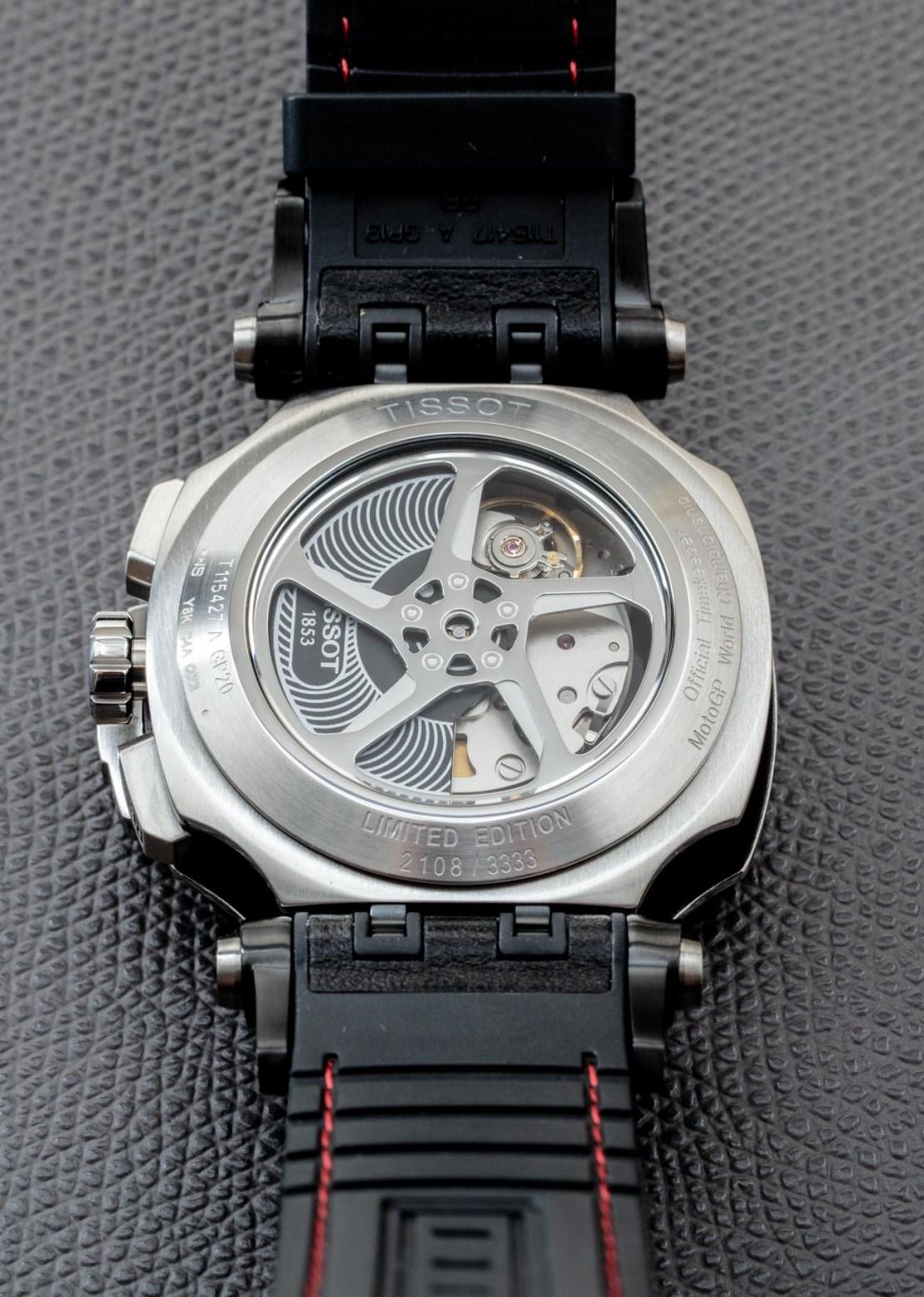 Tissot T-Race MotoGP 2020 Automatic Chronograph Watch Review Wrist Time Reviews