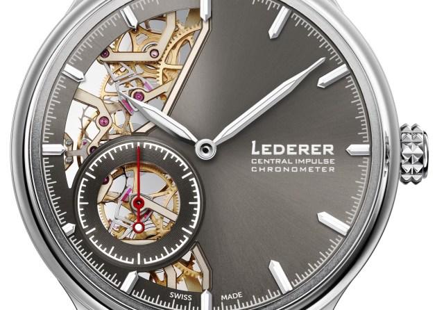 Bernhard Lederer Central Impulse Chronometer Watch Is A Gentleman's Pursuit Of Precision Watch Releases
