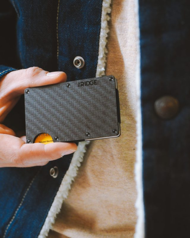 The Watch Guys Of Wallets Designed Super-Practical 'The Ridge' Wallets Luxury Items