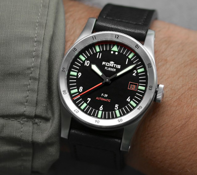 Fortis Unveils Flieger F-39 And F-41 Pilot Watch Models Watch Releases