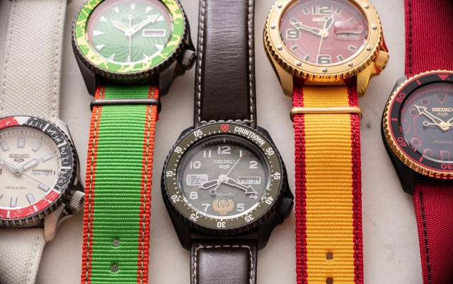 Hands-On: Seiko 5 Street Fighter Watches Hands-On