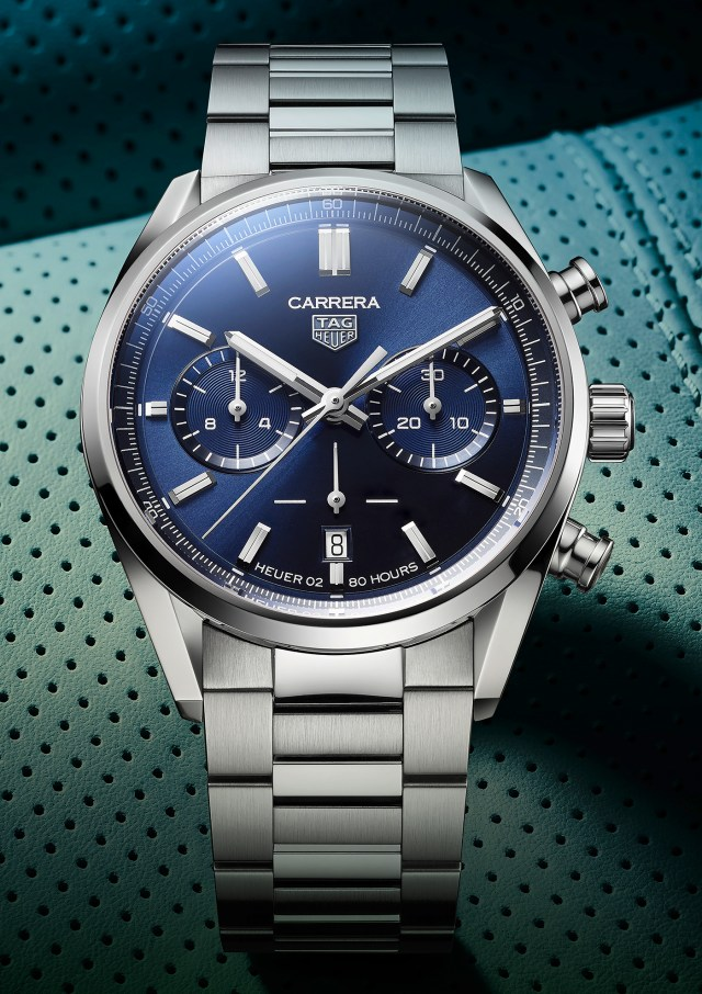TAG Heuer Debuts 42mm Carrera Chronograph Collection Watch Releases