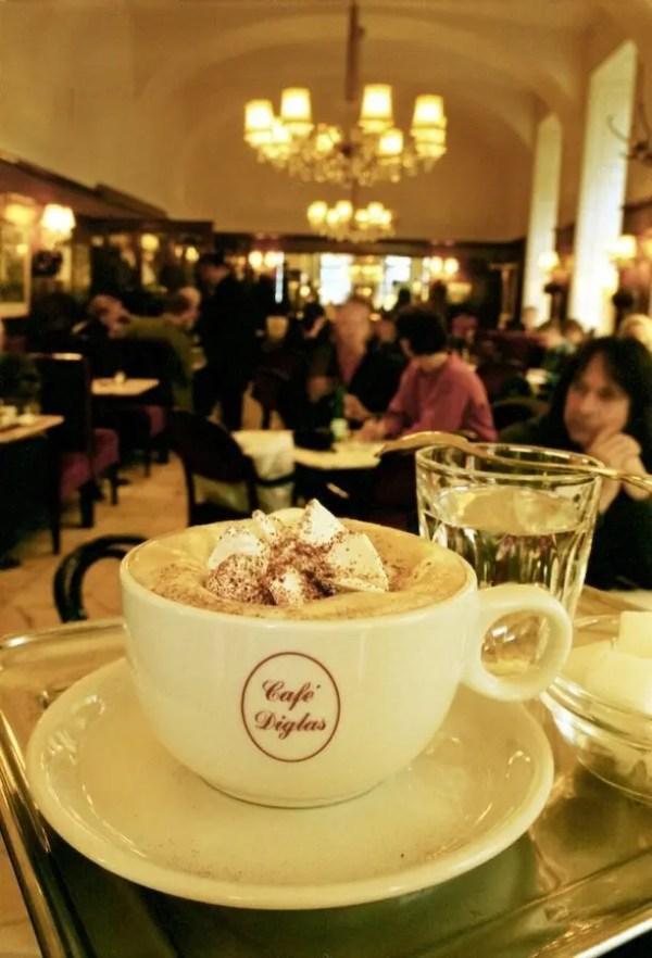 Andrea-Diglas Café Diglas - Vienna, Austria Austria Vienna  Vienna Food Dessert Coffee