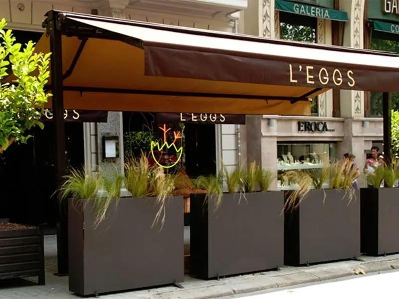 fachada1 L'EGGS  -  Barcelona, Spain Barcelona Spain  Vegetarian Friendly Spain Food Barcelona