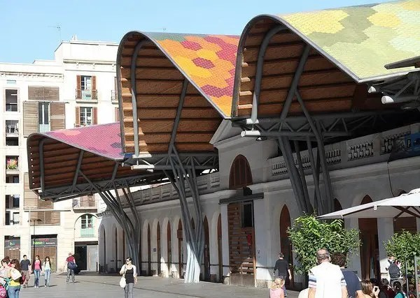 Rick-Ligthelm Santa Caterina Market  -  Barcelona, Spain Barcelona Spain  Spain Markets Food Barcelona