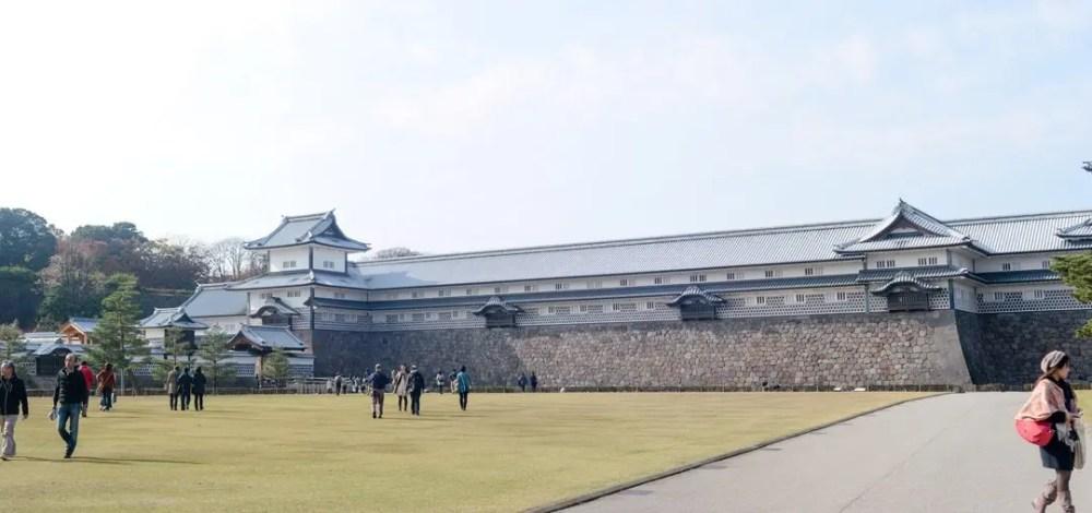 Kanazawa-Castle-002 Kanazawa Castle  -  Kanazawa, Japan Japan Kanazawa  Kanazawa Japan Garden