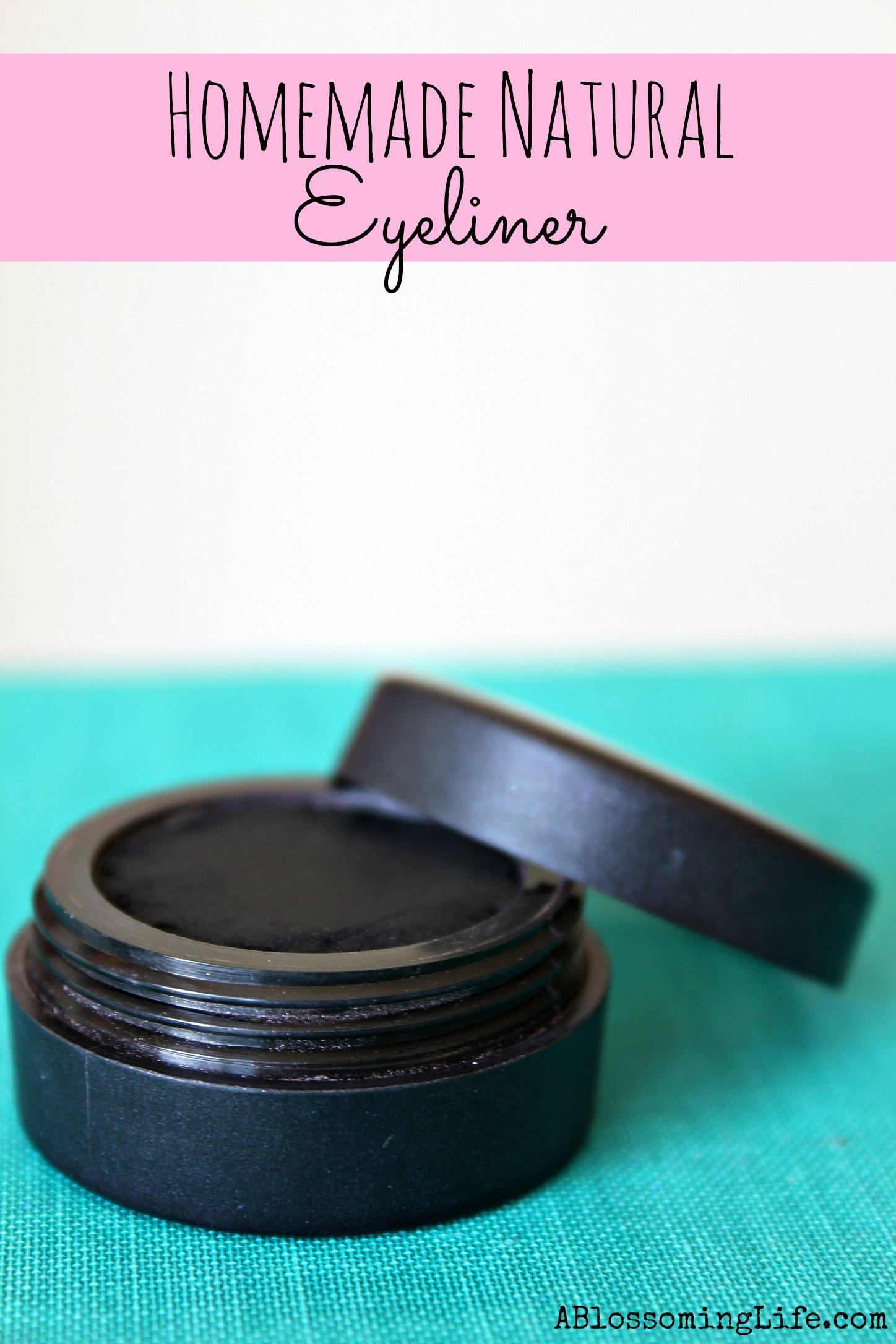 Homemade Natural Eyeliner