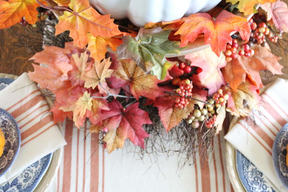 Fresh Fall Tablescapes | A Blue Nest