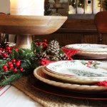 A Very Merry Tablescape & Our Christmas Dining Room