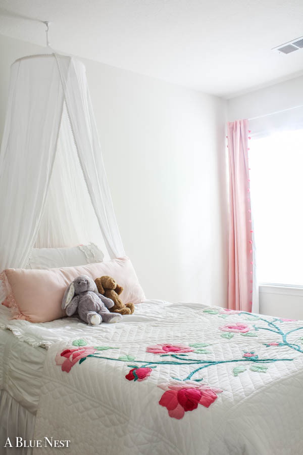 A pink and girly room design - A Blue Nest