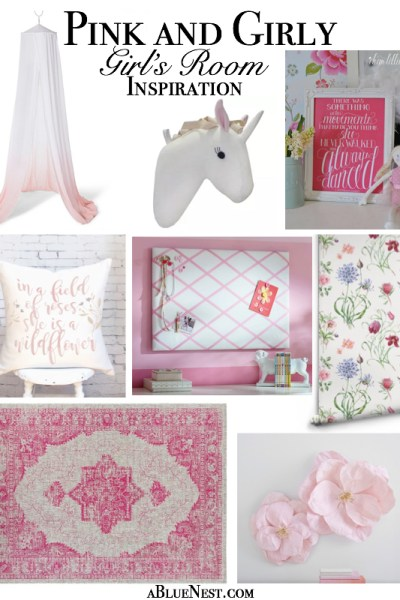 Pink and Girly Room Design