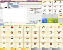 écran logiciel de caisse crisalid