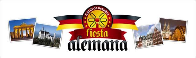 """Werbe-Banner des """"Tienda Inglesa"""" für die deutschen Wochen"""