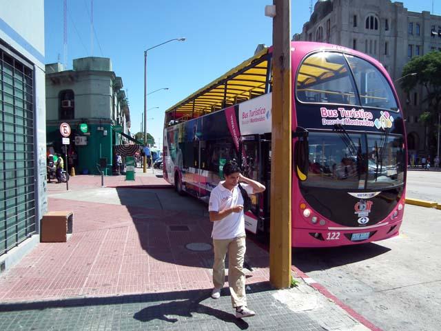 Bus für die Stadtrundfahrt