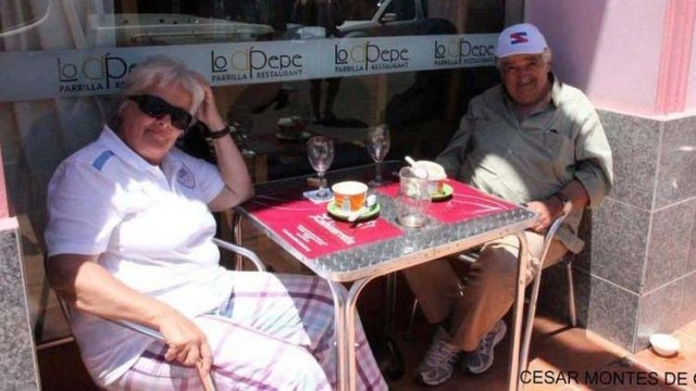 José (Pepe) Mujica  und Lucia Topolansky