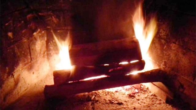 Es brennt tatsächlich!
