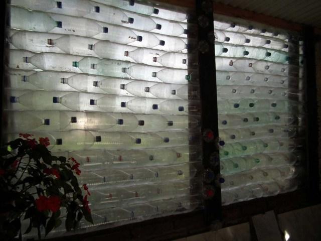 Recycling von Plastikflaschen mal anders