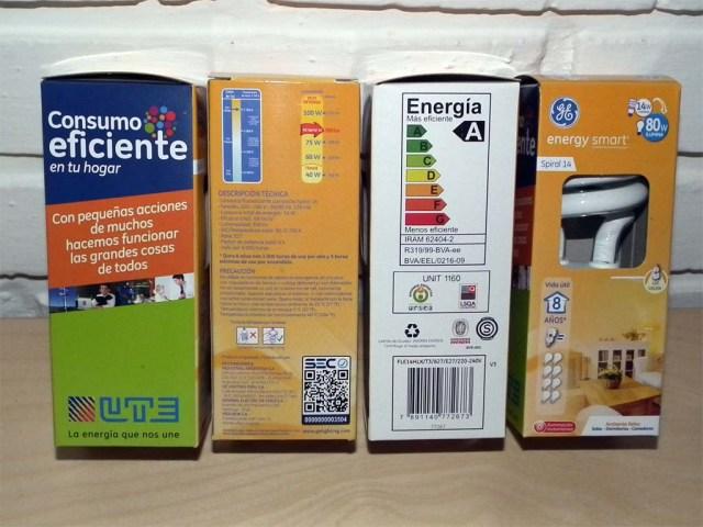 Unsere 4 Energiesparlampen von UTE