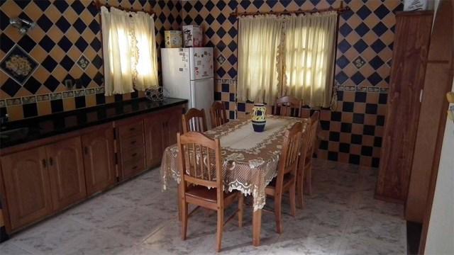 Schachbrett-Küche