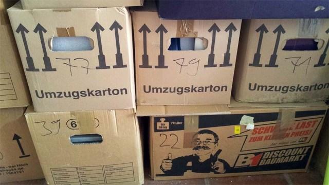 Kisten über Kisten und es nimmt kein Ende ;-)