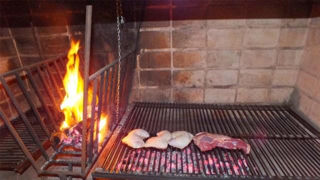 Huhn und Colita de Cuadril