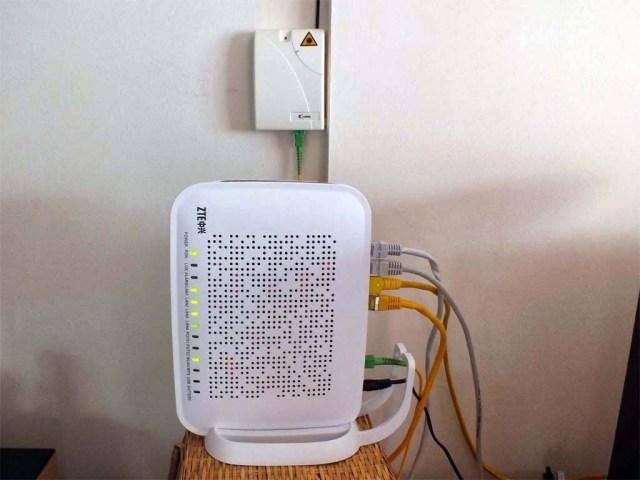 Verteiler mit neuem Router