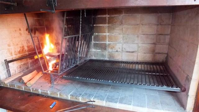 Osterfeuer für's Grillen