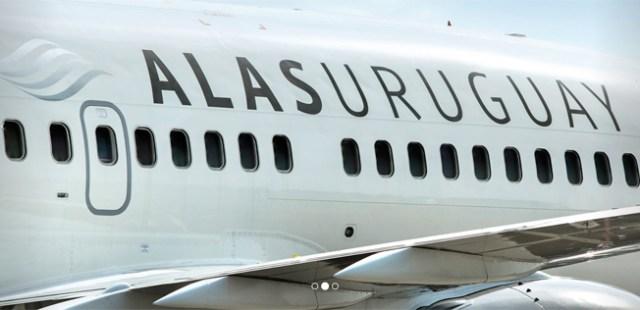 Maschine von Alas Uruguay: Nicht mehr in Betrieb.
