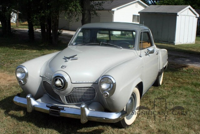 Studebaker-1951 - Original. So sah der wohl mal im Original aus.