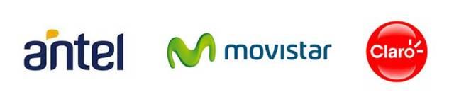 Internetzugnag über Antel, Movistar, Claro