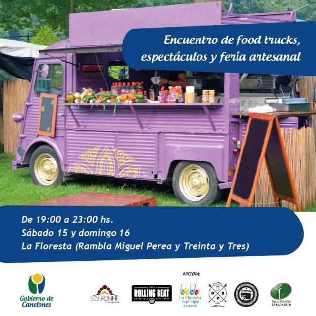 Foodtrucks, espectáculos und feria artesanal - La Floresta
