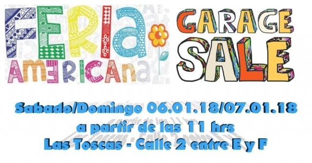 Garage Sale - Feria Americana