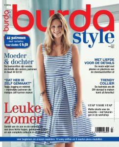 cover  Burda Style juli 2016